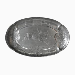 Pewter Tray from Kayser, 1910s
