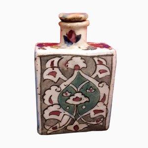 Indische Keramik Flasche, 1970er