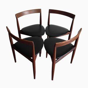 Esszimmerstühle von Hans Olson für Frem Røjle, 1960er, 4er Set