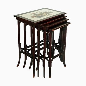 Art Nouveau Nesting Tables from Thonet, 1900s