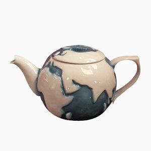 Théière Globe Terrestrial Vintage de Wood Potters of Burslem, Royaume-Uni
