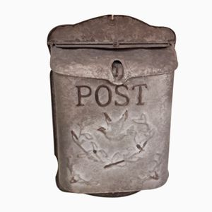 Vintage London Metall Briefkasten