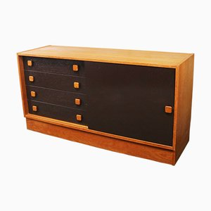 Danish Teak Credenza from Domino Mobler, 1960s