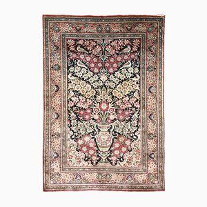Persian Silk Qum Rug, 1970s