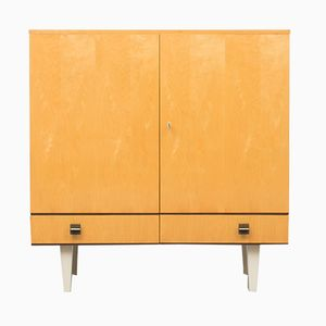 Mid-Century Birch Highboard, 1960s