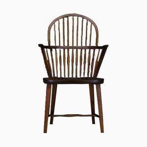 Vintage Danish Windsor Armchair by Frits Henningsen