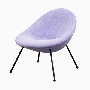 Violetter Mid-Century Stuhl von Fritz Neth für Correcta, 1950er