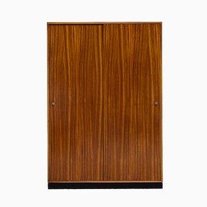 Armadio in legno zebrano di Alfred Hendrickx per Belform, anni '60