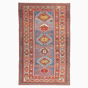Antique Shirvan Rug with Geometric Designs, 1900