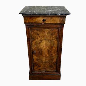 Table de Chevet Antique en Noyer Louis Philippe