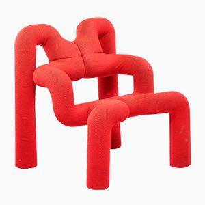 Vintage Extreme Red Chair von Terje Ekstrøm für Stokke