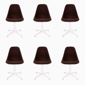 La Fonda Chairs by Charles & Ray Eames for Vitra, 1985, Set of 6