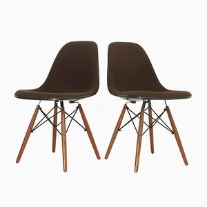 Chaises DSW Vintage par Charles et Ray Eames pour Herman Miller, Set de 2