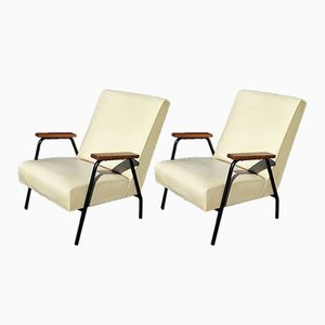 Vintage Rio Lounge Chairs by Pierre Guariche for Meurop
