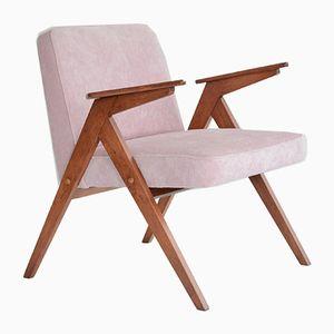 Vintage Pink Velvet Bunny Armchair