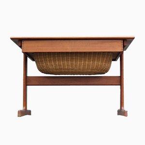 Mid-Century Danish Teak Side Table by Kai Kristiansen for Vildbjerg Møbelfabrik, 1960s