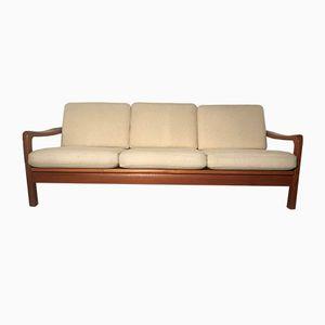 Vintage Teak Sofa oder Tagesbett von Juul Kristensen