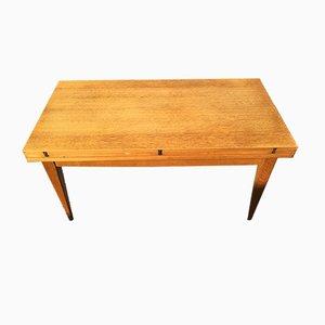 Tavolo industriale allungabile di Albert Ducros, anni '50