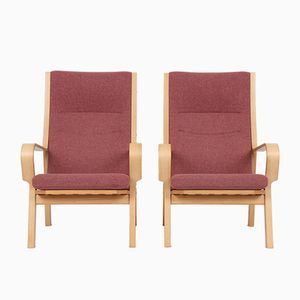 Model 478 Easy Chairs by Hans J. Wegner for Fredericia Furniture, Set of 2