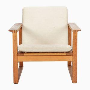 2256 Oak Sessel von Borge Mogensen für Fredericia Stølefabrik, 1950er
