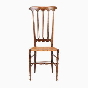 Walnut Chiavari Chair, 1950s