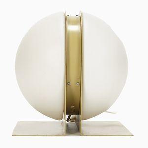 Französische Tischlampe von Ben Swildens für Verre Lumière, 1970er