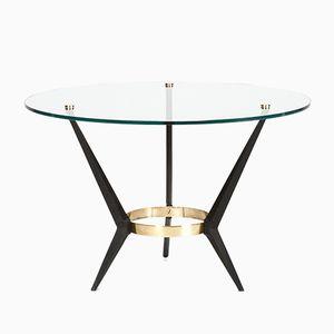 Table Ronde par Angelo Ostuni pour Frangi Milano, 1950s