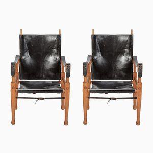 Safari Stühle von Wilhelm Kienzle für Wohnbedarf, 1950er, 2er Set