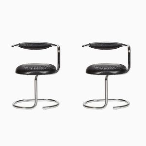 Cobra Chairs by Giotto Stoppino, 1970s, Set of 2