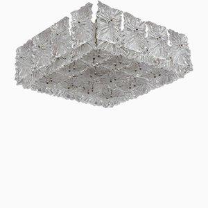 Lampada da soffitto ad incasso di J.T. Kalmar, anni '70