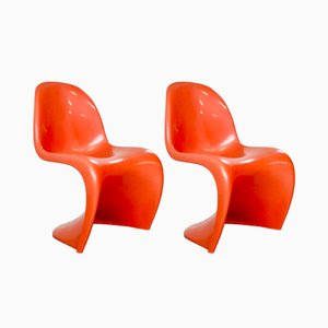 S Chairs By Verner Panton For Fehlbaum, 1973, Set Of 2