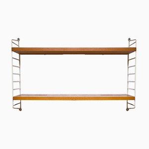 Wall Shelf by Kajsa & Nils Nisse Strinning for String, 1960s