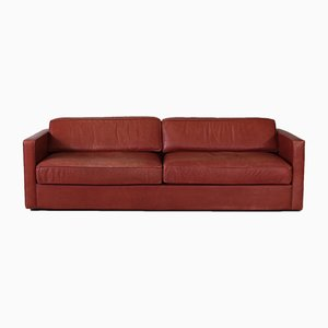 Großes 2-Sitzer Leder Sofa von Walter Knoll, 1980er