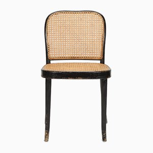 Chaise d'Appoint en Bois Courbé & Osier par Josef Frank, 1920s