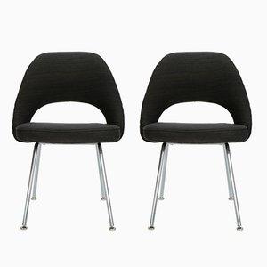 Executive Stühle von Eero Saarinen für Knoll, 1950er, 2er Set