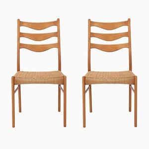 Chairs by Niels Otto Møller for J.L. Møllers, 1960s, Set of 2
