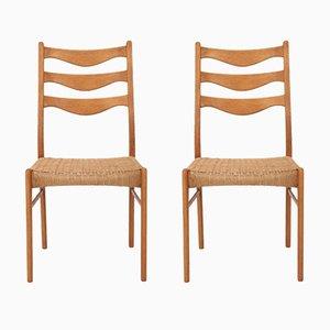 Stühle von Niels Otto Møller für J.L. Møllers, 1960er, 2er Set