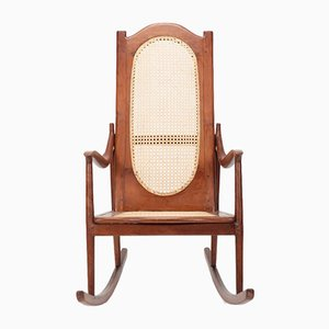 American Rocking Chair in Mahogany, 1890s