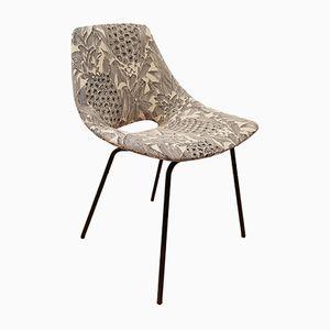 Vintage Tonneau Chair by Pierre Guariche for Steiner