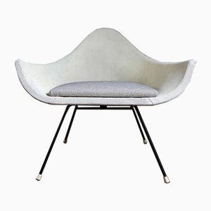 Mid-Century Wicker Satellite Chair by Lloyd Loom