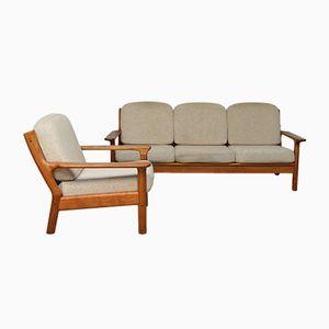 Living Room Set by Burchardt-Nielsen for BB Mobelfabrik, 1970s