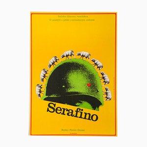 Serafino Filmplakat von Alexej Jaroš, 1972
