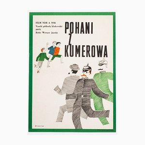 Die Helden von Kummerow Filmposter von František Nový, 1968