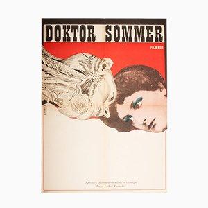 Affiche de Film Doctor Sommer par František Zálešák, 1970