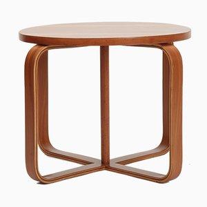 Table Basse en Contreplaqué de Noyer par Giuseppe Pagano Pogatschnig, 1930s