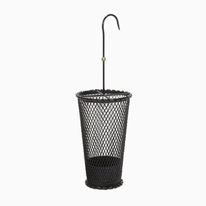 Black Umbrella Stand by Mathieu Mategot, 1950s