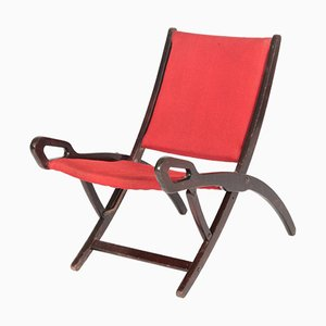 Nifea Folding Chair by Gio Ponti for Fratelli Reguitti, 1950s