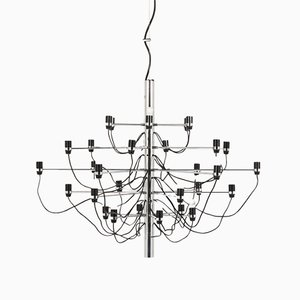 Italian Model 2097/30 Chandelier by Gino Sarfatti for Arteluce, 1970s