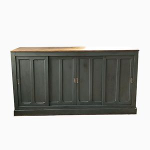 Vintage French Four Door Sideboard, 1940s
