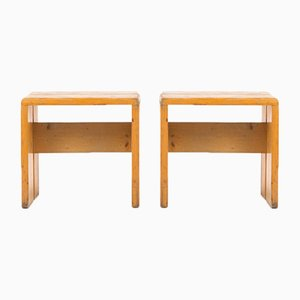 Stools by Charlotte Perriand, 1960s, Set of 2